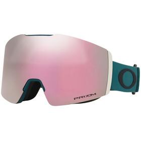 Oakley Fall Line XM Snow Goggles Dame green/prizm hi pink iridium